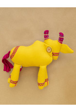 Yellow Small Milk Cow