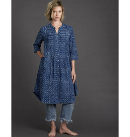 Dharan Indigo Mosaic Dress