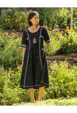 Bhomra Gaachpool Dress Black