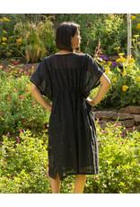 Bhomra Zari Gaachpool Dress Black