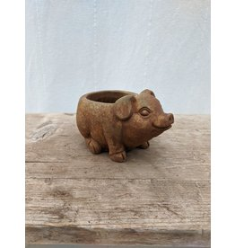 CLASSIC HOME AND GARDEN PIGLET-ANIMAL BUDDIES PLANTER/4 INCH