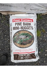 MULCH PINE BARK MINI NUGGET 2 CUBIC FEET