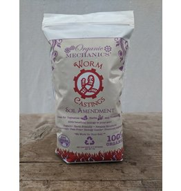 ORGANIC MECHANICS WORM CASTINGS 1 LB BAG AMMENDMENT