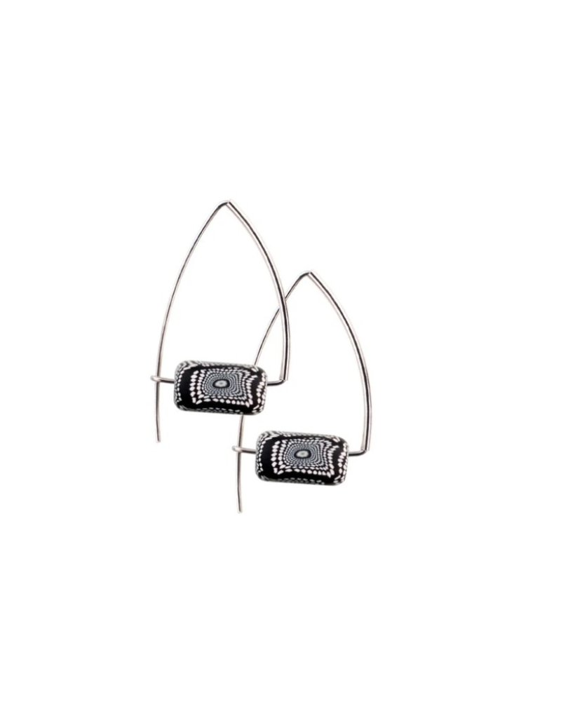 Jilzarah Triangle Earrings