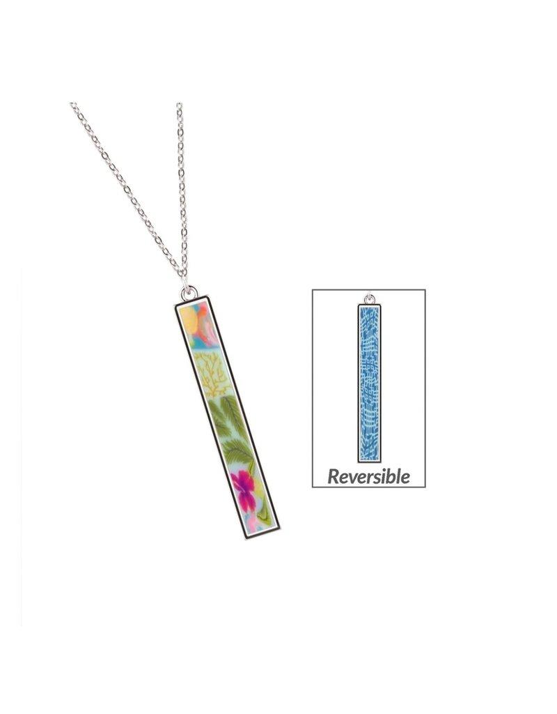 Jilzarah Jilzarah Reversible Vertical Bar Necklaces