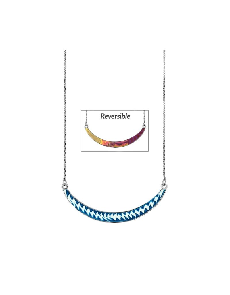 Jilzarah Jilzarah Reversible Curve Necklaces