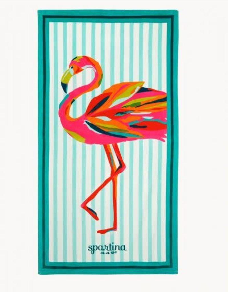 Spartina Flamingo Beach Towel
