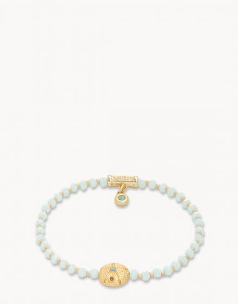 Spartina Twinkle Stretch Bracelet Pale Blue/Sand Dollar