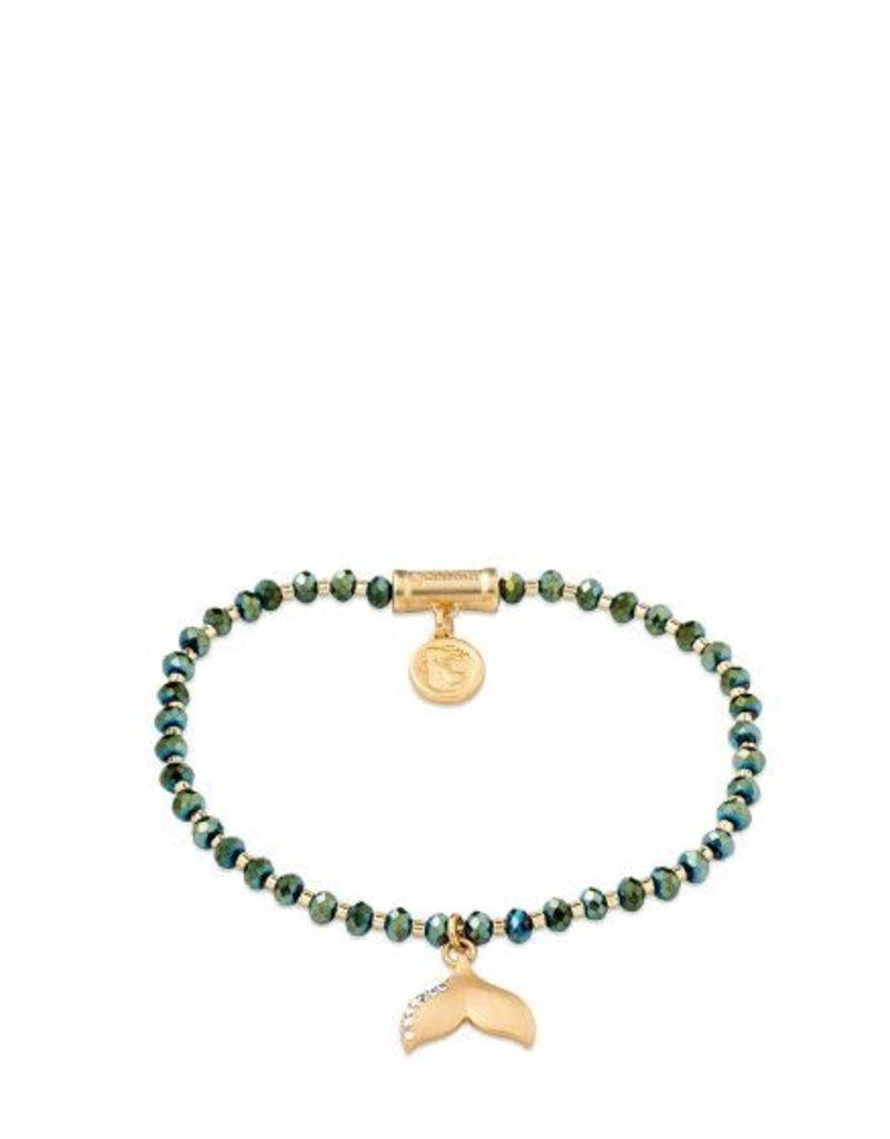 Spartina Twinkle Stretch Bracelet Deep Teal/Tail