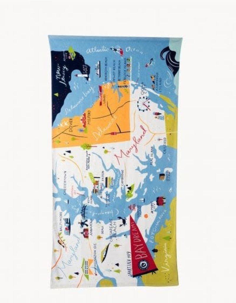Spartina Bay Dreams Beach Towel