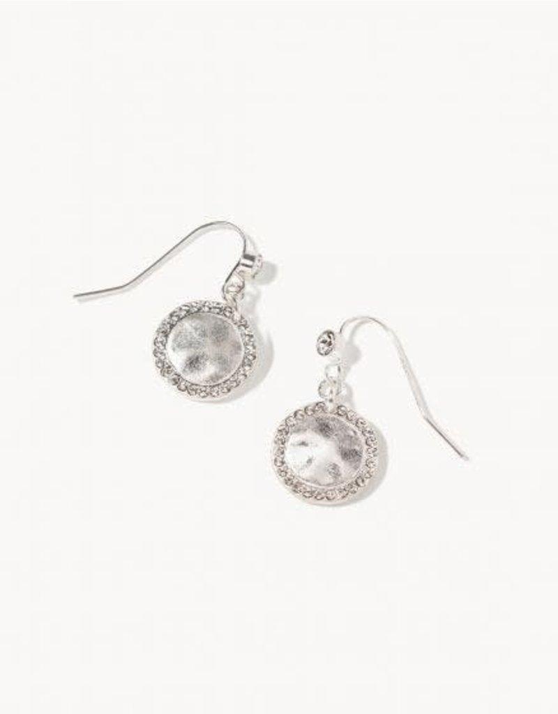 Spartina Crystal Aura Drop Earrings