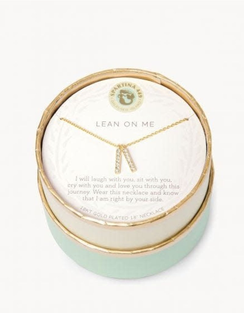 Spartina 449 Sea La Vie Lean On Me Necklace
