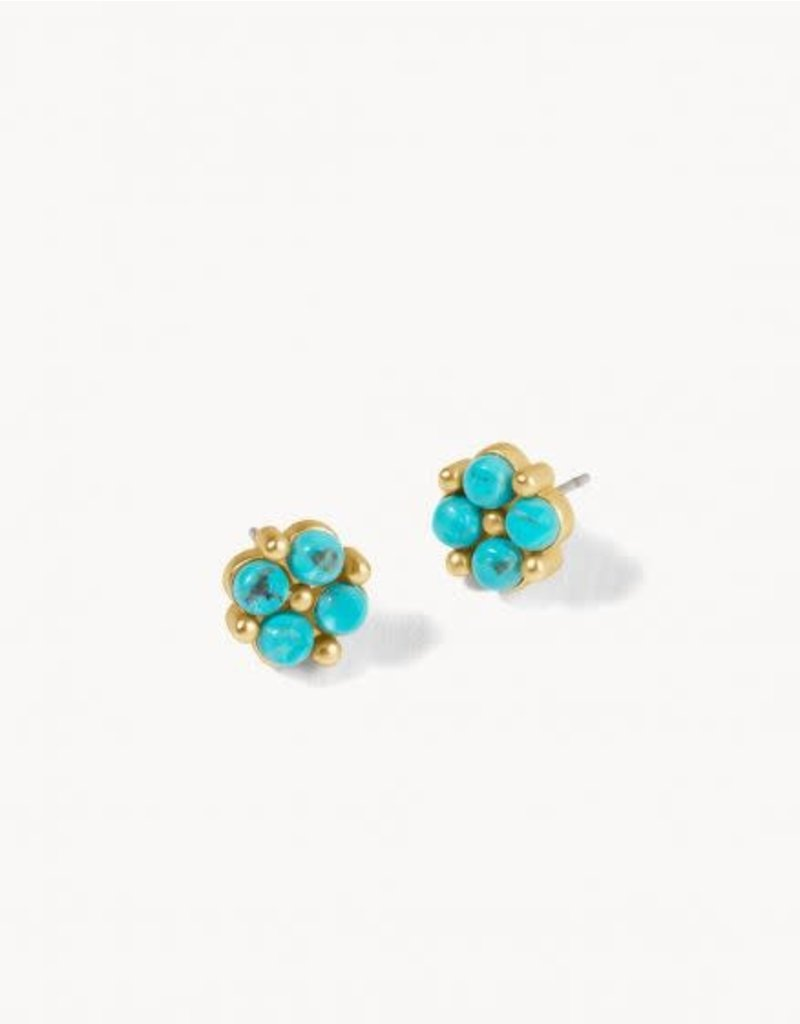 Spartina Clover Stud Earrings