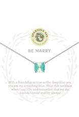 Spartina 449 Sea La Vie Be Marry Necklace - Silver