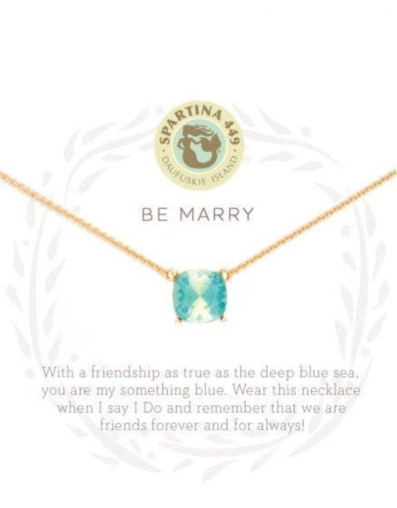 Spartina Sea La Vie Be Marry Necklace - Gold