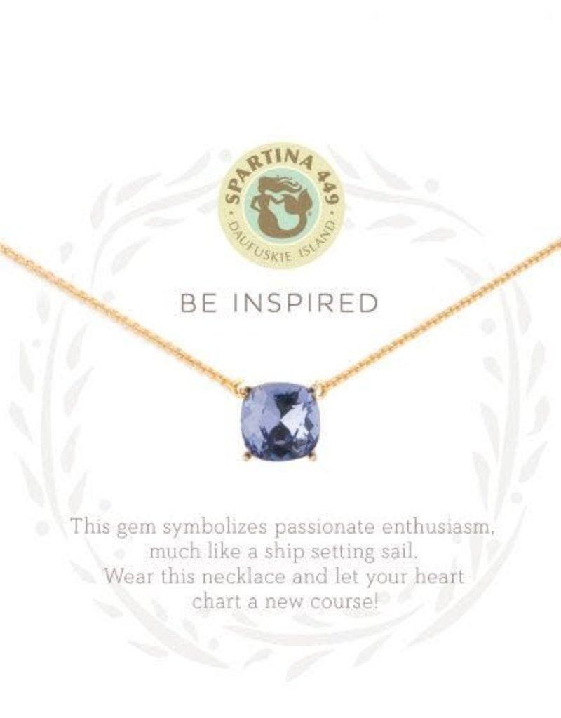Spartina Sea La Vie Be Inspired Necklace  - Gold