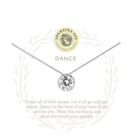 Spartina 449 Sea La Vie Dance Necklace - Silver