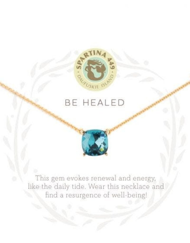 Spartina Sea La Vie Be Healed Necklace - Gold
