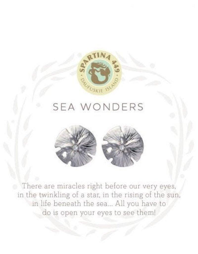 Spartina Sea La Vie Sea Wonders Stud Earrings - Silver