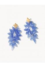 Spartina 449 Lighthouse Earrings - Blue Shimmer