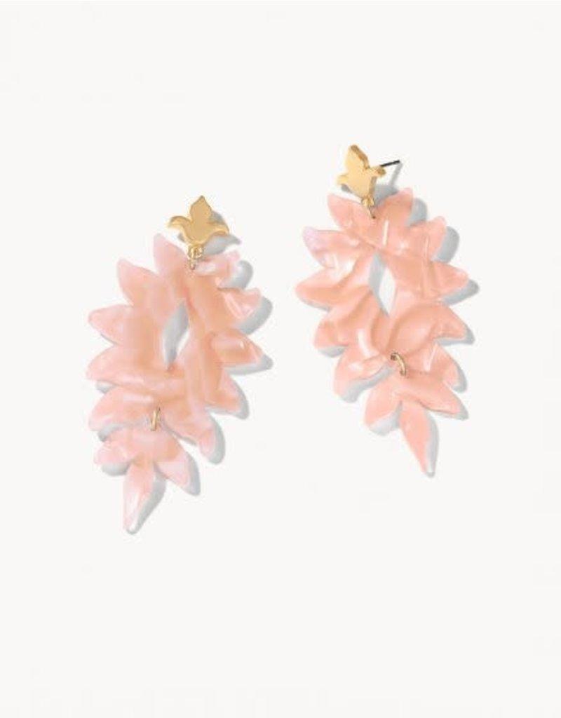 Spartina 449 Lighthouse Earrings - Blush