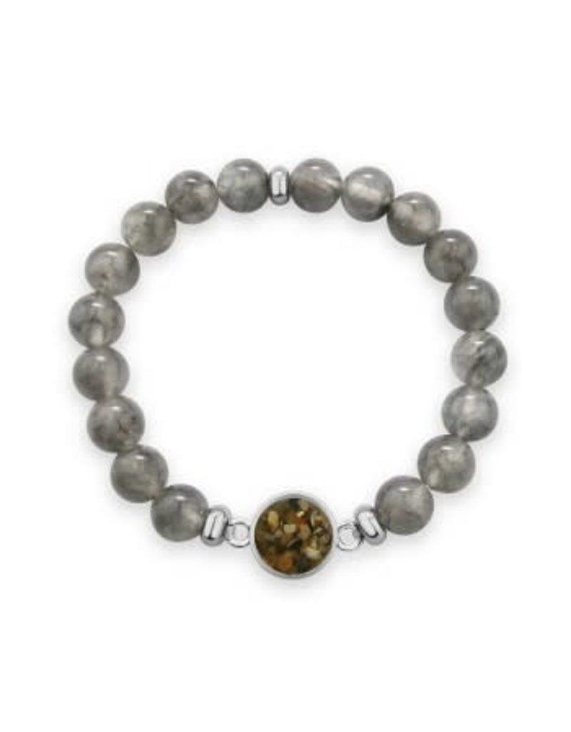 Dune Jewelry Round Beaded Bracelet