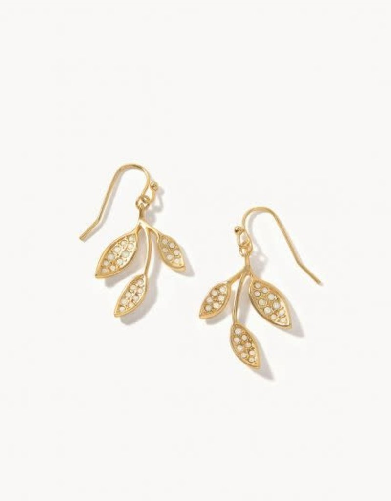Spartina West Bluff Leaf Earrings