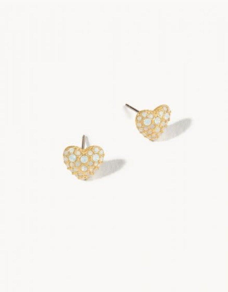 Spartina Bursting Heart Stud Earrings