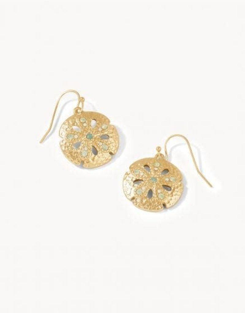 Spartina 449 Sand Dollar Earrings