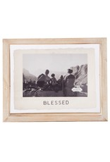 Mud Pie Blessed Glass Frame