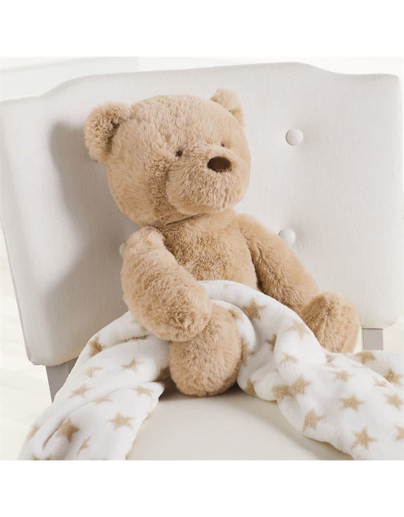 Mud Pie Bear Plush With Blanket