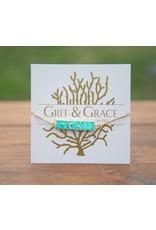 Grit & Grace Grit Adjustable Bracelet - Turquoise