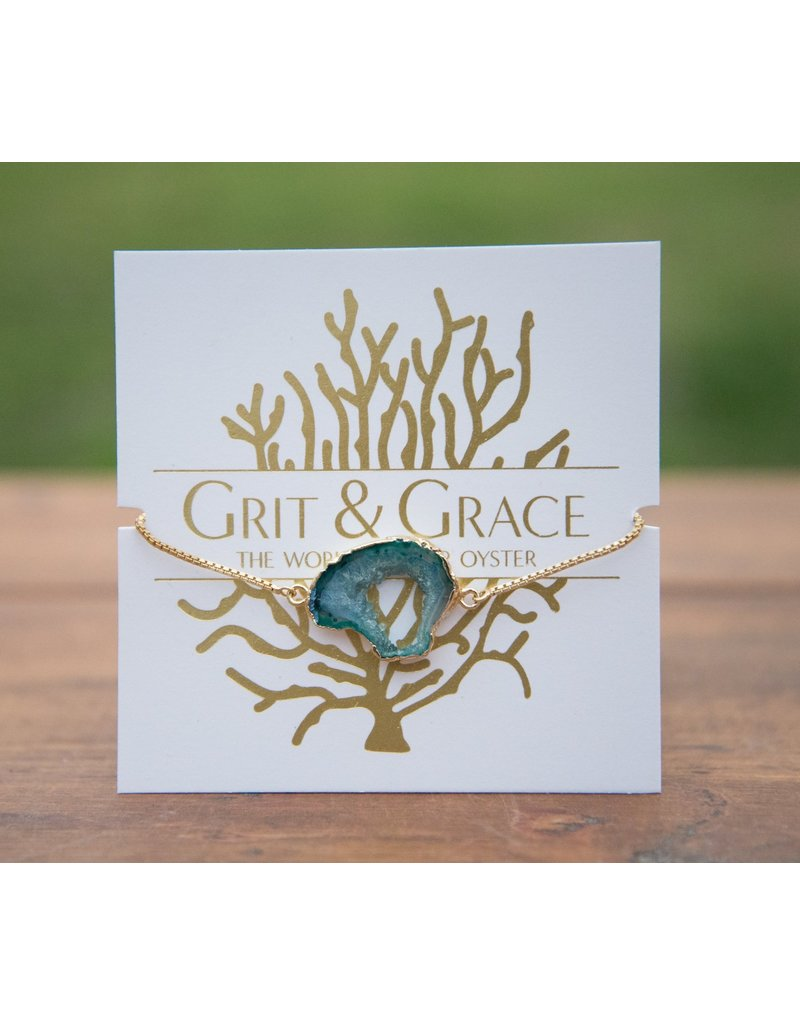 Grit & Grace Grit Adjustable Bracelet - Agate