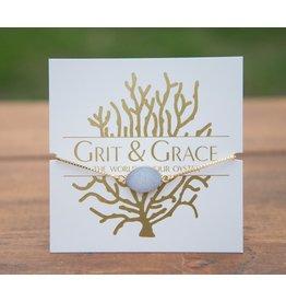 Grit & Grace Grit Adjustable Bracelet - Druzy