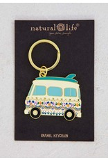 Natural Life VW Bus Keychain