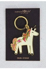 Natural Life Unicorn Keychain