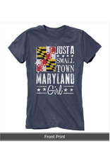 MarylandMyMaryland Just A Small Town Maryland Girl T-shirt