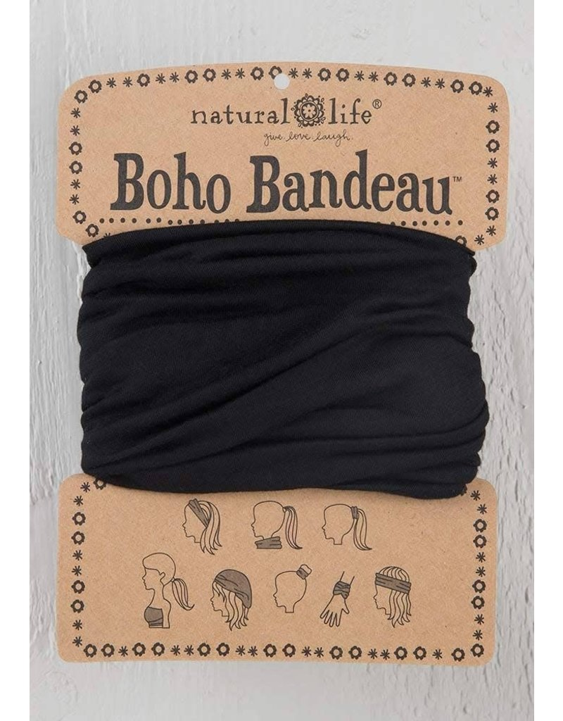 Natural Life Boho Bandeau - Black