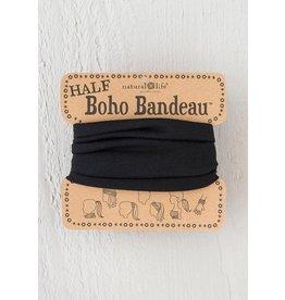Natural Life Half Boho Bandeau - Black