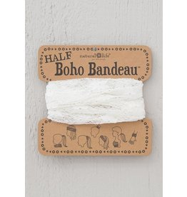 Natural Life Half Boho Bandeau - Cream Lace