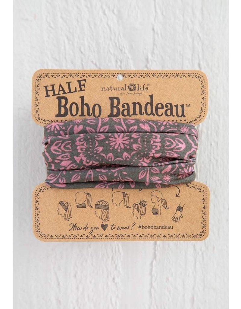 Natural Life Half Boho Bandeau - Olive Mandala