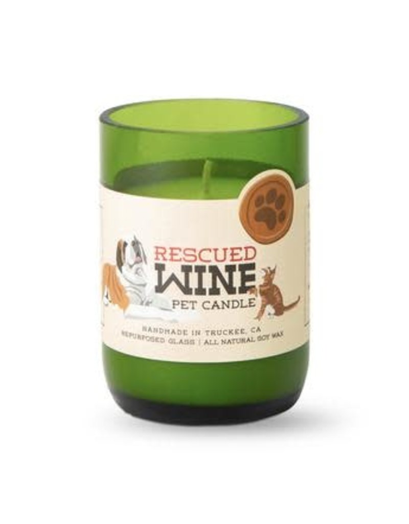 Rescued Wine Clean Home Soy Candle