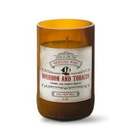 Rescued Wine Bourbon & Tobacco Soy Candle