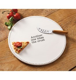 Mud Pie Pizza Stone Set