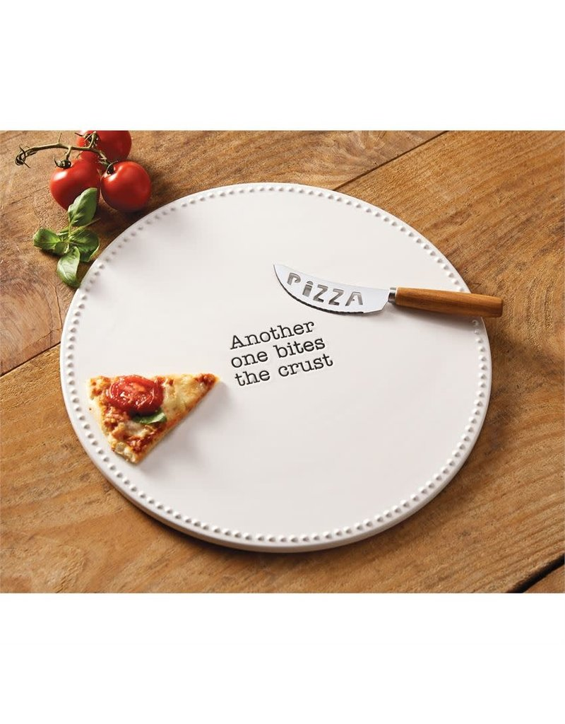 Mud Pie Pizza Stone Set