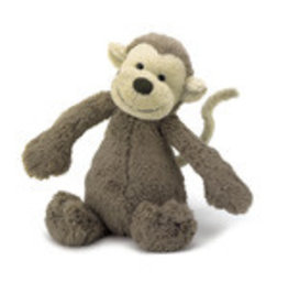 Jelly Cat 'I Am' Stuffed Animal Bashful Monkey