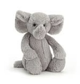 Jelly Cat 'I Am' Stuffed Animal Bashful Grey Elephant