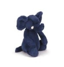 Jelly Cat 'I Am' Stuffed Animal Bashful Blue Elephant