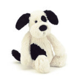 Jelly Cat 'I Am' Stuffed Animal Bashful Black & Cream Puppy