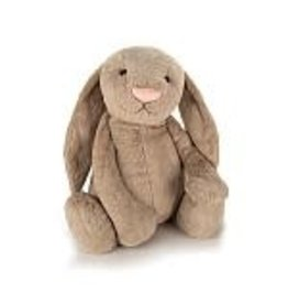 Jelly Cat 'I Am' Stuffed Animal Bashful Beige Bunny